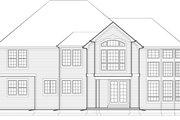 European Style House Plan - 4 Beds 2.5 Baths 3402 Sq/Ft Plan #48-546
