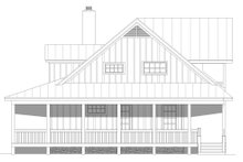 House Plan Design - Country Exterior - Other Elevation Plan #932-168