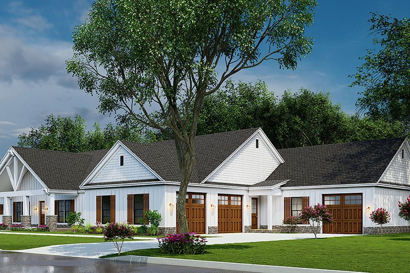 House Plan Design - Traditional Exterior - Other Elevation Plan #923-212