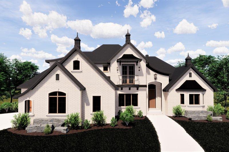 Dream House Plan - European Exterior - Front Elevation Plan #920-12