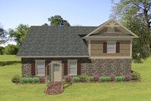Dream House Plan - Craftsman Exterior - Front Elevation Plan #56-610