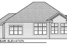 Traditional Exterior - Rear Elevation Plan #70-722