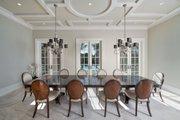 Mediterranean Style House Plan - 5 Beds 5.5 Baths 8001 Sq/Ft Plan #548-5 Interior - Dining Room