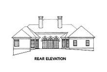 Dream House Plan - European Exterior - Rear Elevation Plan #429-6