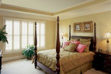 House Design - Country Interior - Master Bedroom Plan #927-9