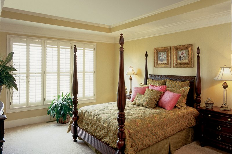 Country Interior - Master Bedroom Plan #927-9 - Houseplans.com