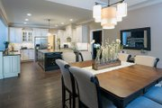 Craftsman Style House Plan - 4 Beds 3 Baths 2863 Sq/Ft Plan #929-7 Interior - Dining Room