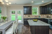 Country Style House Plan - 3 Beds 2.5 Baths 1635 Sq/Ft Plan #20-2192 Interior - Kitchen