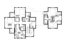 Traditional Floor Plan - Upper Floor Plan Plan #928-11