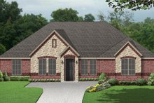 Traditional Exterior - Front Elevation Plan #84-596