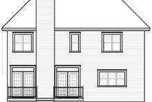 Dream House Plan - European Exterior - Rear Elevation Plan #23-816
