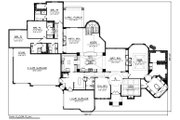 Ranch Style House Plan - 4 Beds 3 Baths 5230 Sq/Ft Plan #70-1234 Floor Plan - Main Floor Plan