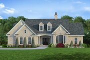 Ranch Style House Plan - 3 Beds 2 Baths 1781 Sq/Ft Plan #929-371 Exterior - Front Elevation