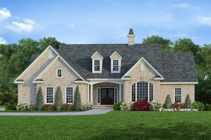 Ranch Exterior - Front Elevation Plan #929-371