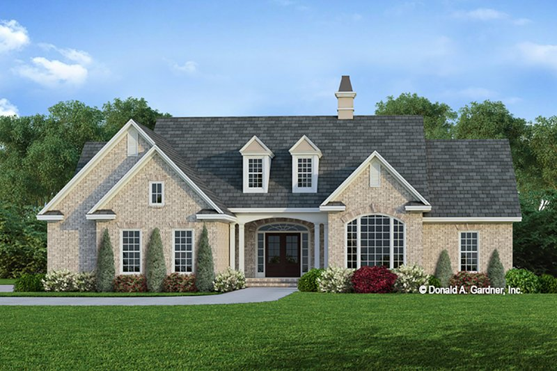 House Plan Design - Ranch Exterior - Front Elevation Plan #929-371