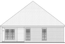 House Plan Design - Country Exterior - Rear Elevation Plan #430-51