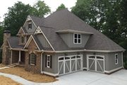 Craftsman Style House Plan - 4 Beds 4 Baths 3290 Sq/Ft Plan #437-64 Exterior - Other Elevation