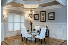 Dream House Plan - Country Interior - Dining Room Plan #929-556
