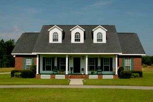 Traditional Exterior - Front Elevation Plan #44-103