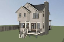 Craftsman Exterior - Other Elevation Plan #79-304