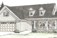 House Plan Design - Traditional Exterior - Front Elevation Plan #20-382