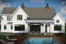 Home Plan - Farmhouse Exterior - Rear Elevation Plan #51-1130