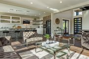 Modern Style House Plan - 3 Beds 3 Baths 3045 Sq/Ft Plan #1066-67 Interior - Family Room