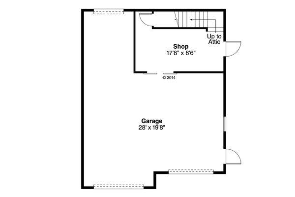 Country Floor Plan - Other Floor Plan Plan #124-931