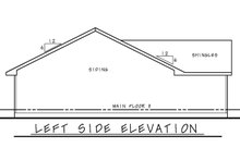 Architectural House Design - Traditional Exterior - Other Elevation Plan #20-2352