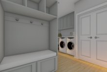 House Plan Design - Farmhouse Interior - Entry Plan #126-234