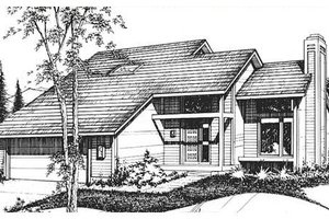 Traditional Exterior - Front Elevation Plan #320-302