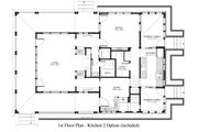 Country Style House Plan - 2 Beds 3 Baths 1900 Sq/Ft Plan #917-13 Floor Plan - Main Floor