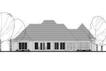 Home Plan - European Exterior - Rear Elevation Plan #430-126