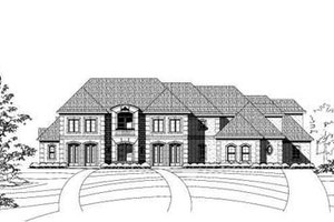 Traditional Exterior - Front Elevation Plan #411-138