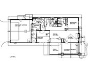 Craftsman Style House Plan - 2 Beds 2 Baths 1210 Sq/Ft Plan #895-94 Floor Plan - Main Floor