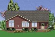 Craftsman Style House Plan - 3 Beds 2 Baths 1800 Sq/Ft Plan #48-414