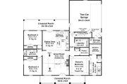 Farmhouse Style House Plan - 3 Beds 2 Baths 1817 Sq/Ft Plan #21-461