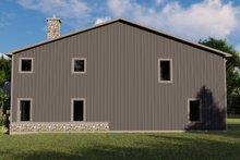 House Plan Design - Farmhouse Exterior - Other Elevation Plan #1064-100
