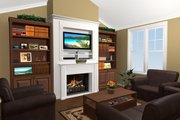 Southern Style House Plan - 3 Beds 2 Baths 1500 Sq/Ft Plan #21-146 Photo