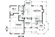 Victorian Style House Plan - 4 Beds 3 Baths 2518 Sq/Ft Plan #48-108 Floor Plan - Main Floor Plan