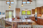 Ranch Style House Plan - 3 Beds 2.5 Baths 2693 Sq/Ft Plan #140-149 Interior - Kitchen