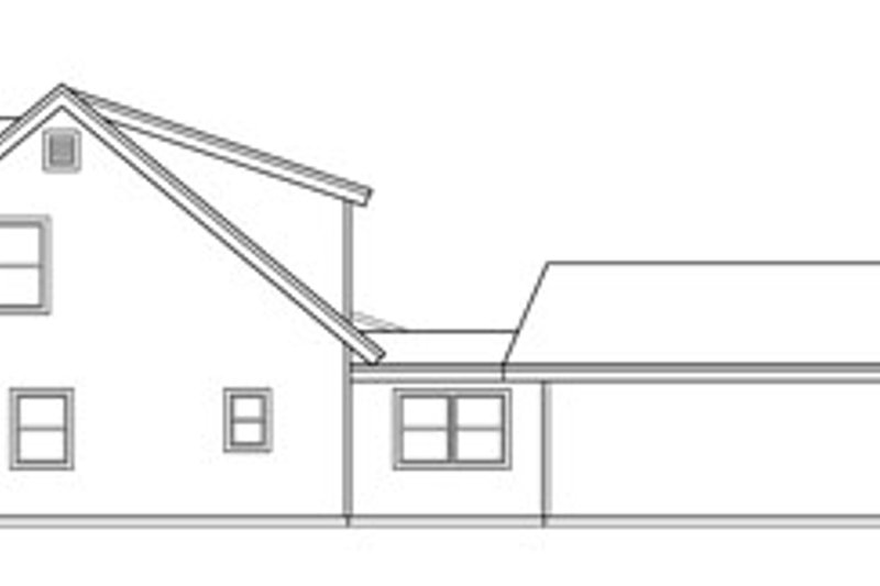 Country Exterior - Other Elevation Plan #124-771 - Houseplans.com