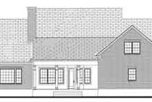 Southern Exterior - Rear Elevation Plan #406-121