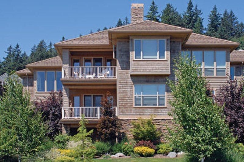 Craftsman Exterior - Rear Elevation Plan #48-432 - Houseplans.com