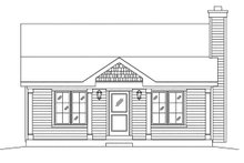 House Plan Design - Cottage Exterior - Front Elevation Plan #22-596