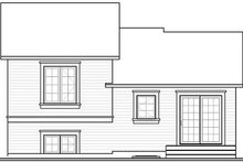 Dream House Plan - Traditional Exterior - Rear Elevation Plan #23-704