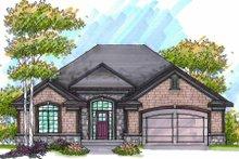 Home Plan - Bungalow Exterior - Front Elevation Plan #70-946