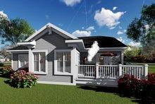 Ranch Exterior - Rear Elevation Plan #70-1416