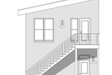 Contemporary Exterior - Other Elevation Plan #932-50