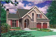 Dream House Plan - Traditional Exterior - Front Elevation Plan #48-172